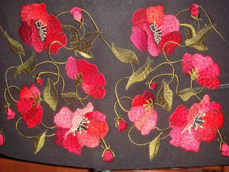 Дизайны для машинной вышивки осинка 32